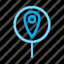 board, location, map, pin icon