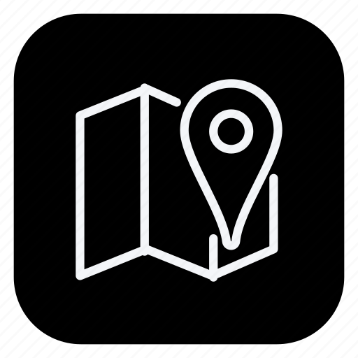 location, map, navigation, pin, pointer, positioning icon