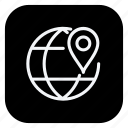 earth grid, geolocalization, location, map, pin, pointer, positioning icon