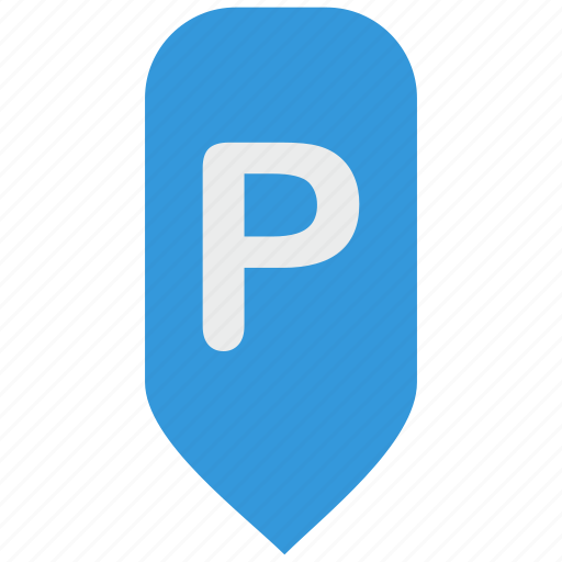 car, geo, map, parking, place, pointer icon