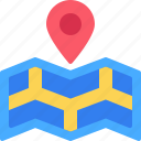 location, map, place, pin