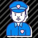 cop, law, police, security