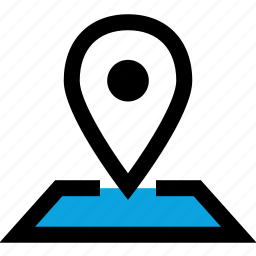 google, gps, map, pin icon