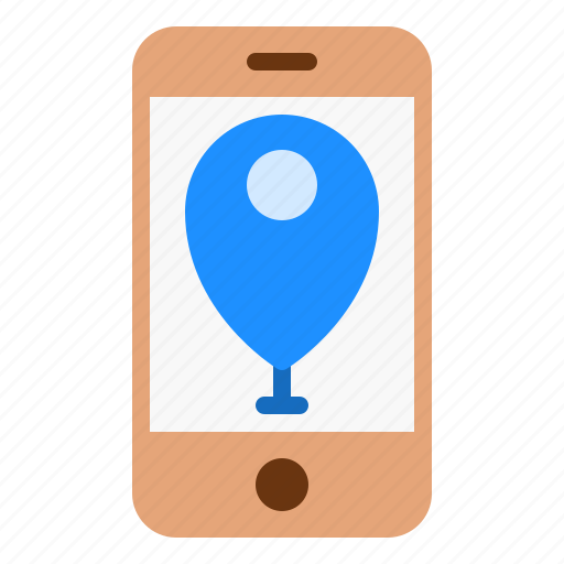 App, gps, location, map, mobile icon - Download on Iconfinder