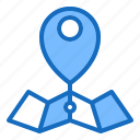 destination, gps, location, map, pin icon