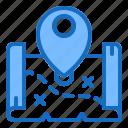 location, map, pin, pirate, treasure