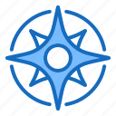 compass, east, north, south, west icon