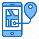 app, gps, location, map, mobile icon
