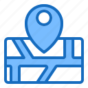 city, gps, location, map, road icon
