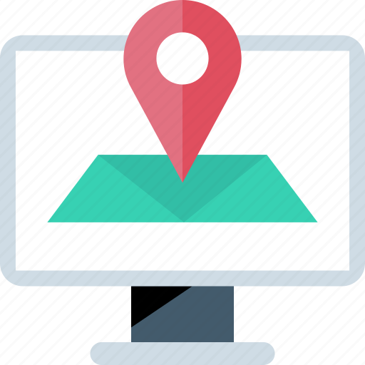 address, find, online, web icon