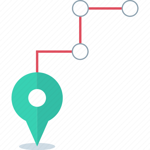 connected, destiny, locate, pin icon