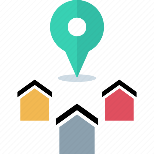 address, find, home, house icon