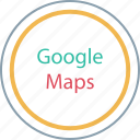 find, google, locate, maps icon