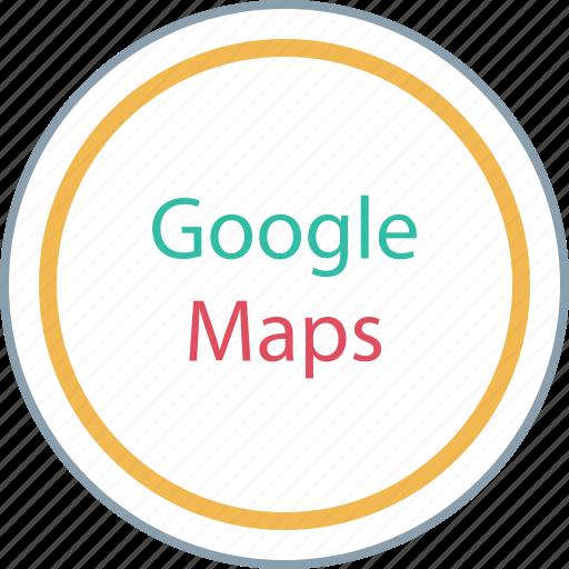find, google, locate, maps icon