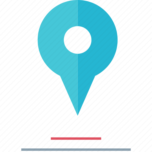 gps, locate, map, pin icon