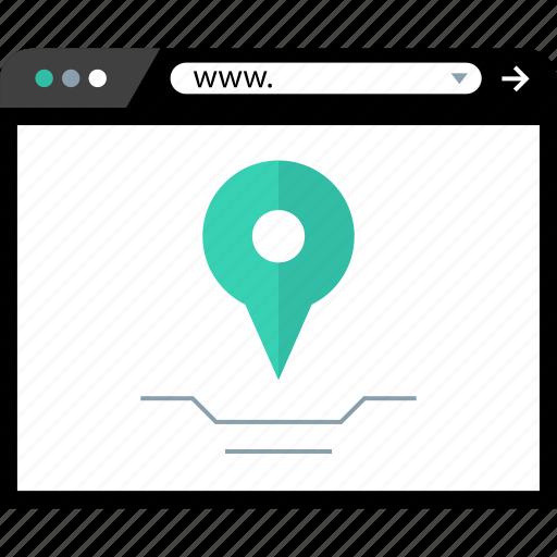 find, location, pin, search icon