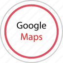 google, map, maps icon