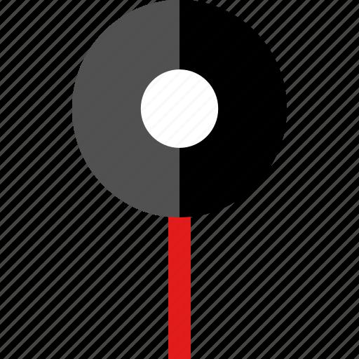 clean, google, pin icon