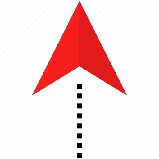 arrow, gps, up icon