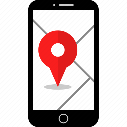 gps, location, mobile icon