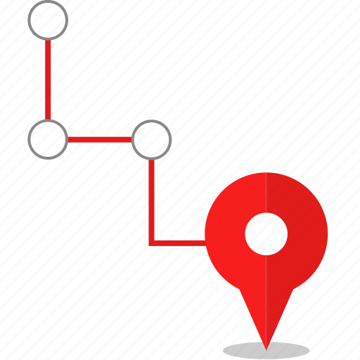 connect, gps, pin icon