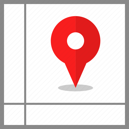 gps, location, pin icon
