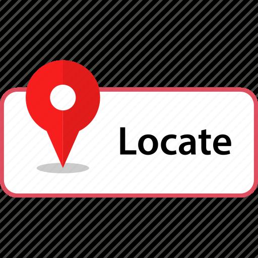 find, locate, more icon