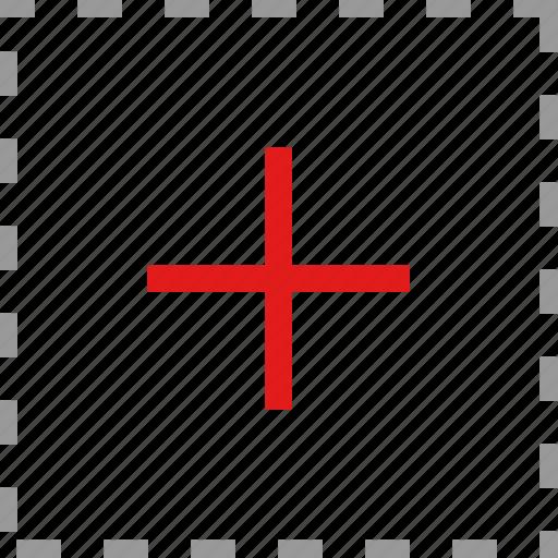 cross, plus, target icon