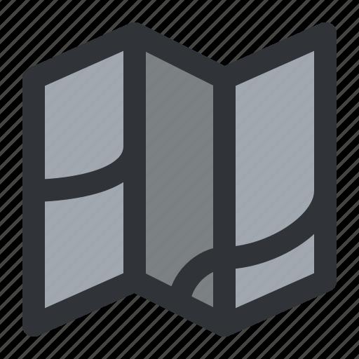 Map, navigation icon - Download on Iconfinder on Iconfinder