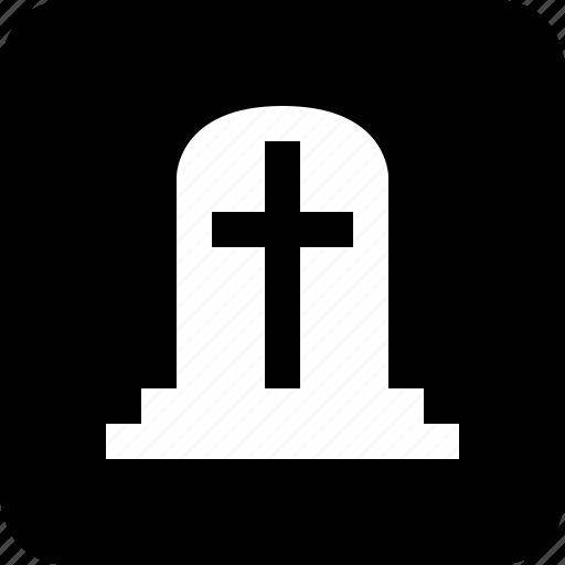 cemetery, grave, rip icon