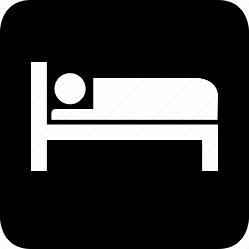bed, hotel, sleep icon