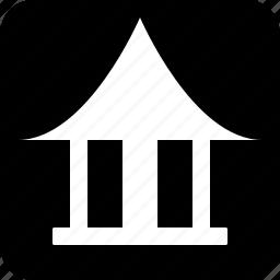 pagoda, temple icon