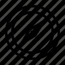compass, gps, maps, navigation icon
