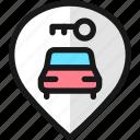 pin, style, car, key