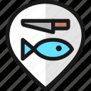 pin, fish, style, prepare