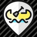 pin, style, kayak