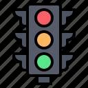 traffic, light, sign, stop, road, signaling, transportation