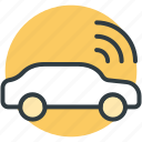 autonet wifi, car, transport, wifi car, wifi signals icon