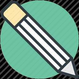 crayon, lead pencil, pencil, stationery, write icon