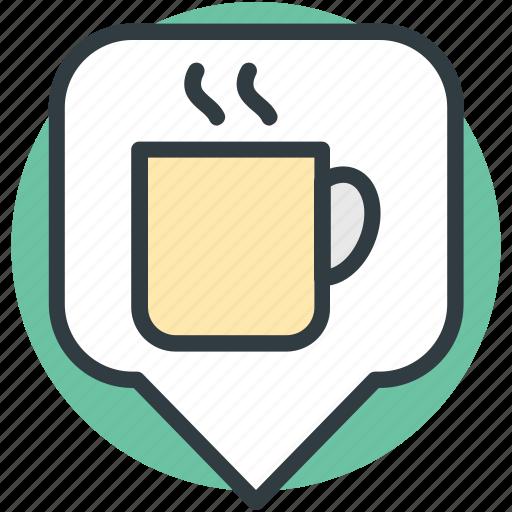 cafe location, coffee shop, coffee shop location, coffee shop pin icon