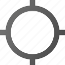 antena, gps, location, map, no, position, signal icon