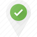 check, geolocation, location, map, pin