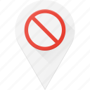 disable, geolocation, location, map, pin