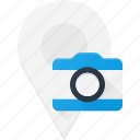 geolocation, image, location, map, photo, pin icon