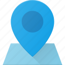 geolocation, location, map, pin, position icon