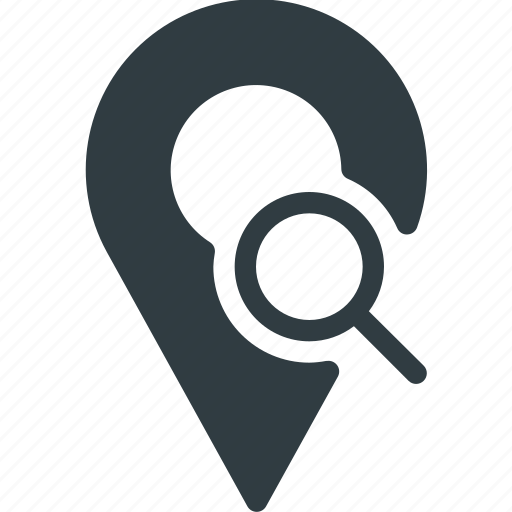 Geolocation, location, map, pin, search icon - Download on Iconfinder