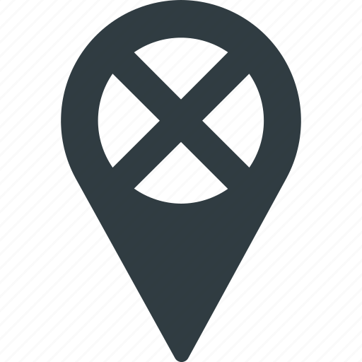 Error, geolocation, location, map, pin icon - Download on Iconfinder