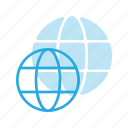 earth, global, globe, location, map icon