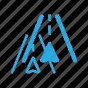 gprs, gps, location, map, navigate, navigation, road icon