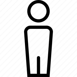 creative, grid, man, person, profile, shape, street, user icon